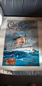 Wholesale Joblot 19 Cadburys chocolate Poster 16inch X 20inch