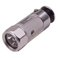 LED Taschenlampe 30 Lumen Tageslicht ALU für 12 Volt Zigarettenanzünder Auto PKW