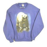 Vintage Labatt's Blue Light Polar Bear Sweater Men's Large