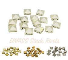 Eimass ® pirámide postes de acrílico, perlas, coser o pegar en reverso plano granos para Craft