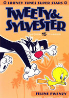 Looney Tunes Super Stars: Tweety and Sylvester - Feline Fwenzy DVD NEW