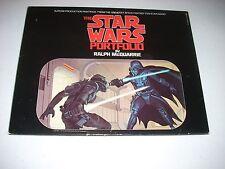 The STAR WARS PORTFOLIO Ralph McQuarrie Original 1977 complete VF/NM 21 prints