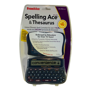 Franklin Electronics SA-206 Plus Spelling Ace & Thesaurus BRAND NEW SEALED