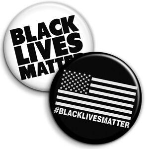 Black Lives Matter - Button Badges / PinBacks - 25mm 1 inch