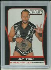 2018 Jay Lethal All In 9/1/2018 ROH AEW Impact Wrestling Card #23 - Mint