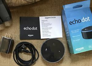 Amazon ECHO DOT - Smart Speaker - Alexa- Black NEW (NIP) onlyHave1 PRICED 2 SELL