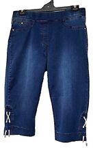 TS pants TAKING SHAPE plus sz S / 16 The Luxe Shorts stretch soft denim NWT!