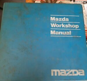 1991  Mazda Navajo Dealer Workshop Manual & Wiring Diagrams