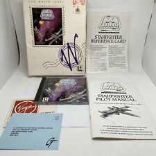 Star Wars X Wing Collector's cd-rom Big Box PC Lucas Arts