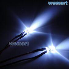 RC 5mm LED Luci 6 ~ 7.4v 2 Luci per Tamiya kit luce e aggiornamento Crawler Camion