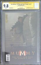 The Mummy: Rise and Fall of Xango's Ax #1__CGC 9.8 SS__Signed by Brendan Fraser