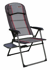 Quest Performance Range Reclining Folding Chair With Side Table X2 Pair
