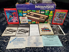 Mattel INTELLIVISION Game System Console Complete in Box w/ Games and Manuals