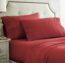 Hotel Quality 2 Piece Pillow Case Set by the Home Collection - 12 Colors!