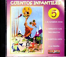 CUENTOS INFANTILES VOL.5 - EN ESPAÑOL  - CD
