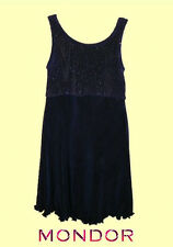 Mondor® #1220 Size 6X-7 Dark Navy With Sparkles Skating Dress/Costume CLEARANCE