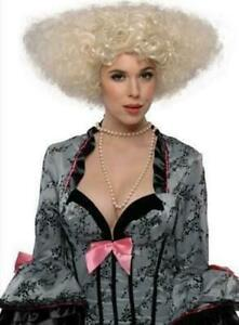Blonde Let's Dance Huge Curly Wig, Disco, 70's, Victorian, Regency, Wild Afro