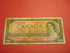1954 - Canada two dollar bill - $2 Canadian note - NG4873312