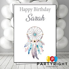 Personalised Dream Catcher Boho Birthday Card