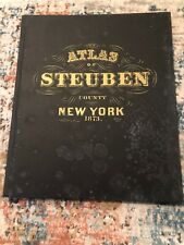 New Listing1873 Atlas Of Steuben County Reproduction