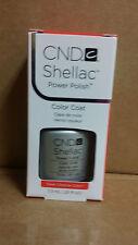 Creative CND Nail Shellac ~ Silver Chrome  ~ Soak Off Gel Polish .25 oz