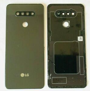 OEM LG K51 LM-K500UM3 BATTERY BACK BLACK DOOR REPLACEMENT PART CAMERA GLASS LENS