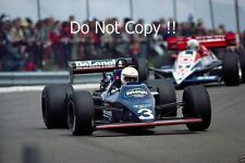 Martin Brundle Tyrell 012 French Grand Prix 1984 Photograph 2