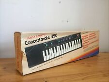 Realistic Concertmate 350 Electronic Keyboard Synthesizer BOXED - TESTED