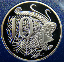 1985  10 cent proof coin. Only 74,089 made! Brilliant coin in 2 x 2 holder.