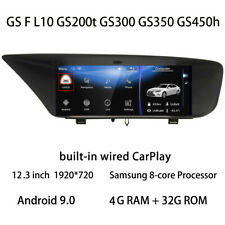 Car Multimedia Player Stereo GPS Radio Monitor Android for Lexus GS 200t 300 350