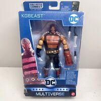 "KGBEAST DC Multiverse Mattel 6"" Killer Croc BAF Collect & Connect Batman 80th"