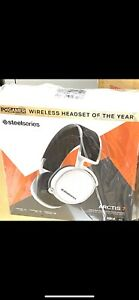 SteelSeries Arctis 7 White (2019 Edition) Headband Headset for PC and.....