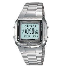 Casio DB360-1A Men's 30 Memory Metal Band Databank Watch