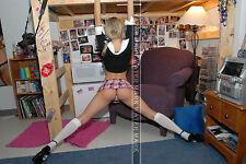122 SEXY ART DECAL STICKER PIN UP GIRL STUNNING COLLEGE GIRL SEXY LEGS BUTT ASS