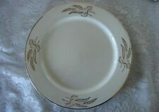Vintage LIFETIME CHINA Prairie Gold Dinner Plate