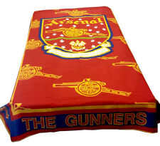 Arsenal afc artilleurs-old crest rétro vintage design lit simple couette couette seulement