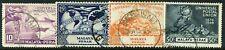 Malaysia (Perak) 1949 UPU set SG 124-127 used (cat. £10)