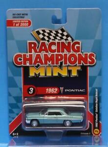 RACING CHAMPIONS 2020 R1 1962 Pontiac Catalina (Aquamarine Poly)