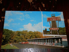 SOULANGES P.Q. CANADA - MOTEL DES ERABLE POSTCARD - COTEAU DU LAC Co.