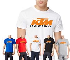 tshirt UOMO fruit of the loom personalizzata logo Fans Ktm Racing 100%cotone