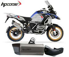 Exhaust Muffler Hpcorse Sp3 Carbon Short Stainless Steel Bmw R 1250 Gs 2019>2020