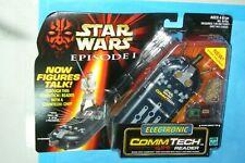 Commtech Chip Reader Comlink Star Wars Episode 1 Sounds Hasbro 1998