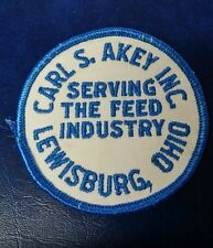CARL S. AKEY INC SERVING THE FEED INDUSTRY LEWISBURG, OHIO (FARMING) PATCH