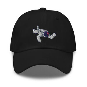 Space Man Floating Embroidered Cotton Adjustable Dad Hat, Galaxy Astronaut