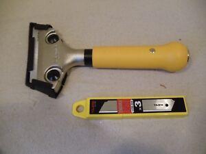 200mm Hochleistungsschaber Schaber mit Wechselklingen Profiqualität Fugenmesser