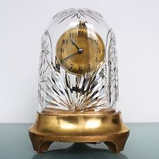 ONLY 2500 MADE BULLE CLOCKETTE COSTA BODA Mantel RARE Clock CRYSTAL Dome Antique