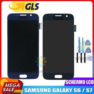 DISPLAY LCD TOUCH SCREEN PER SAMSUNG GALAXY S6 / S7 RETINA VETRO SCHERMO