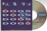 Dogs Mr Collector CD PROMO card sleeve