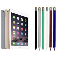 2 In1 Pencil-style DE Capacitive Touch Stylus Pen For Apple Phone Tablet