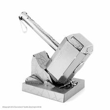 Metal Earth Marvel Avengers Thor's Hammer Mjolnir Laser Cut 3D Model Kit